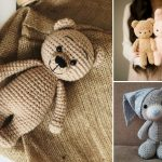 Oldschool Crochet Amigurumi Bears