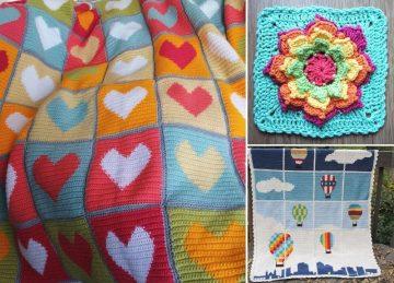Ornamental Crochet Baby Blankets