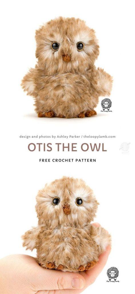 Otis the Owl Free Crochet Pattern