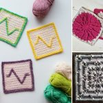 Cute Colorful Crochet Squares