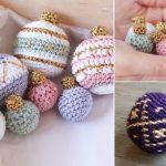 Beautiful Ornament Crochet Baubles