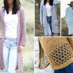 The Best Beautiful Feminine Crochet Cardigans