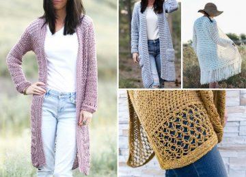 The Best Beautiful Feminine Crochet Cardigans