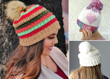 Warm Winter Crochet Beanies