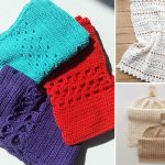 Zero Waste Crochet Dishcloths