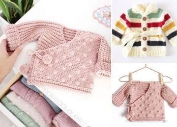 Cute Cardigans for Kids Free Crochet Patterns