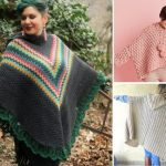 Fun Feminine Hooded Ponchos