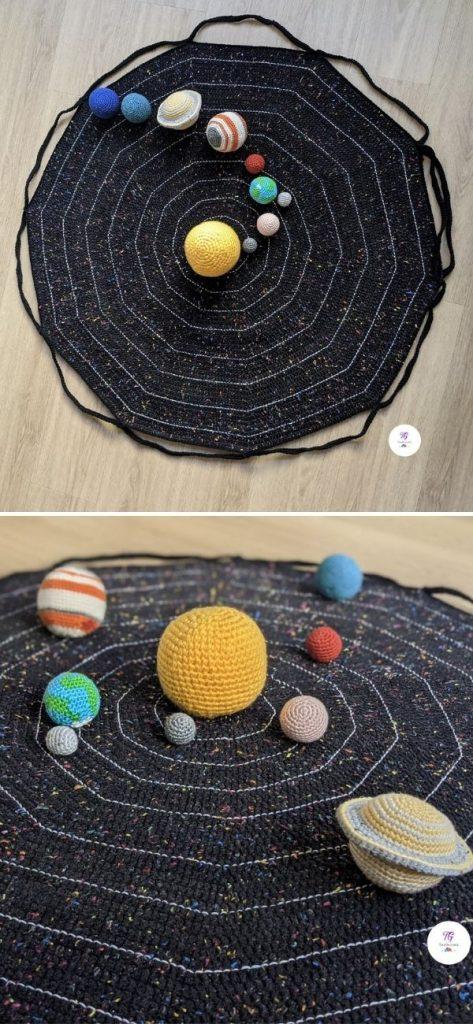 Solar System Play Mat