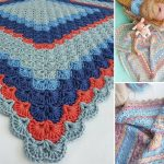 Adorable Shells Crochet Baby Blankets