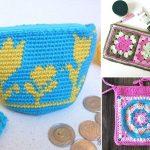 Easy & Versatile Crochet Pouches