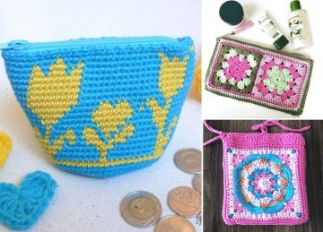 Easy & Versatile Crochet Pouches