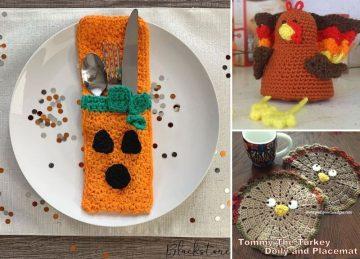 Lovely Crochet Thanksgiving Decor Ideas