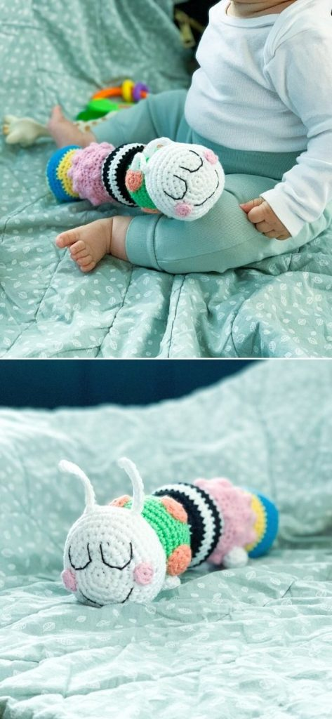Crochet caterpillar