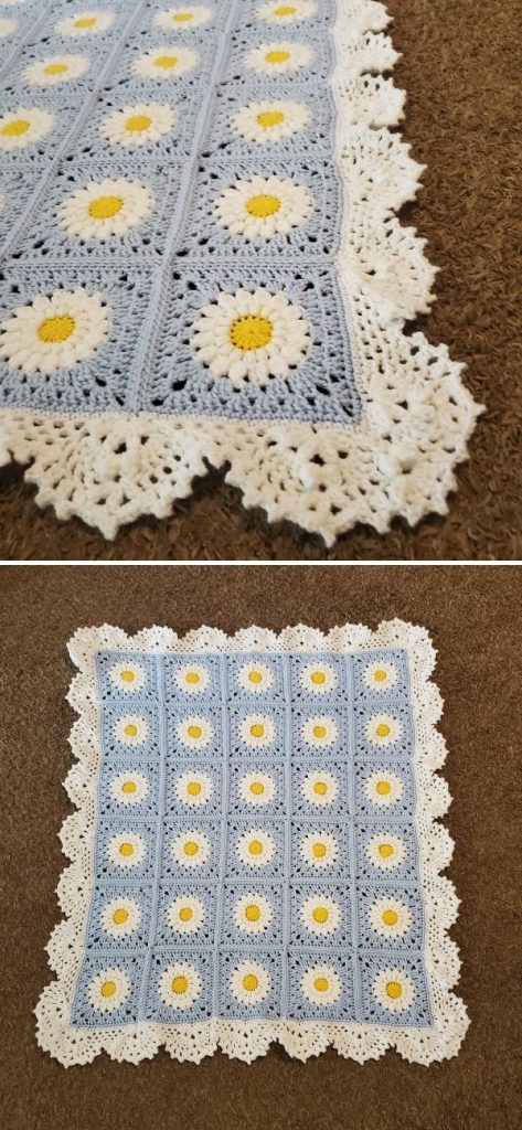Field of Daisies blanket