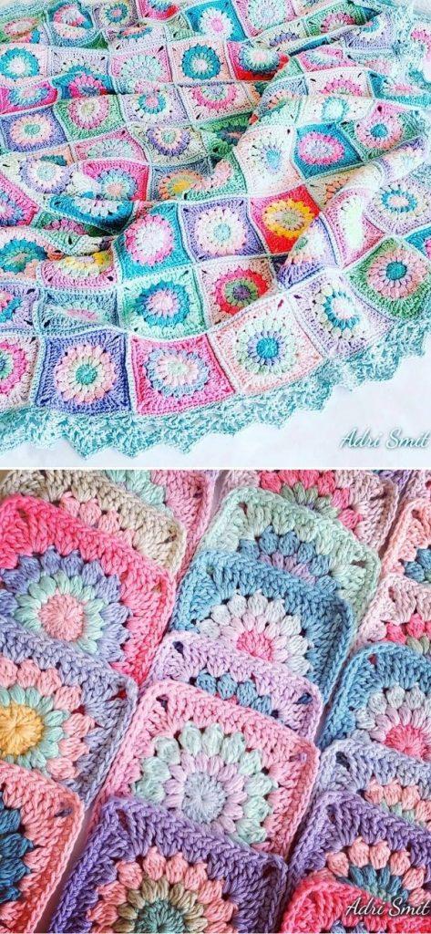 Anette's Pastel Blanket