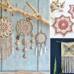 Fun Boho Crochet Wall Decor Ideas