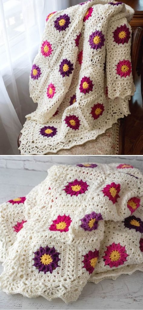 My Mother's Garden Afghan