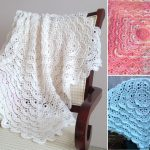 Fluffy Meringue Stitch Blankets