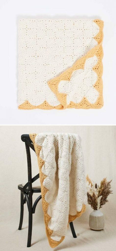 Springtime Motif Blanket