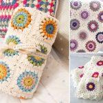 Beautiful Sunburst Granny Squares – Free Crochet Patterns