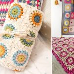 Beautiful Sunburst Granny Squares – Free Crochet Patterns