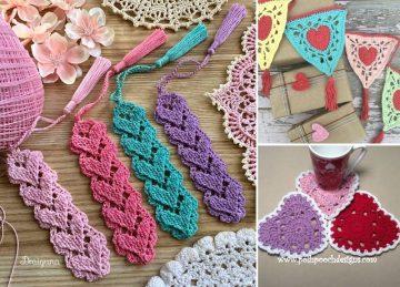Crochet Hearts Decor Ideas