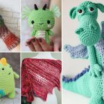 Fantastic And Fun Free Crochet Dragon Patterns