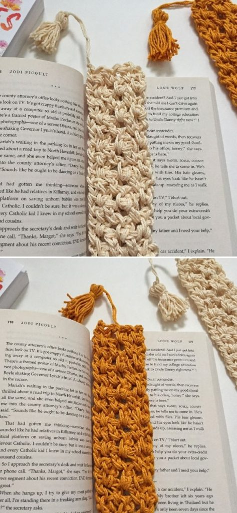 Easy Textured Bookmark