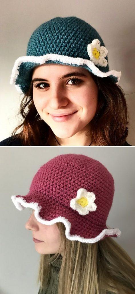 Daisy Meadow Bucket Hat