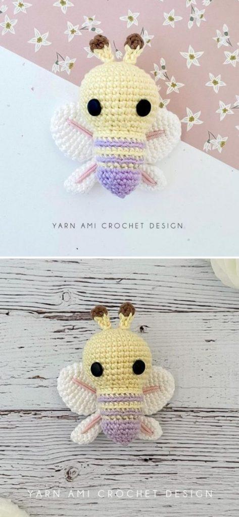 Lulu the Butterfly Crochet Pattern