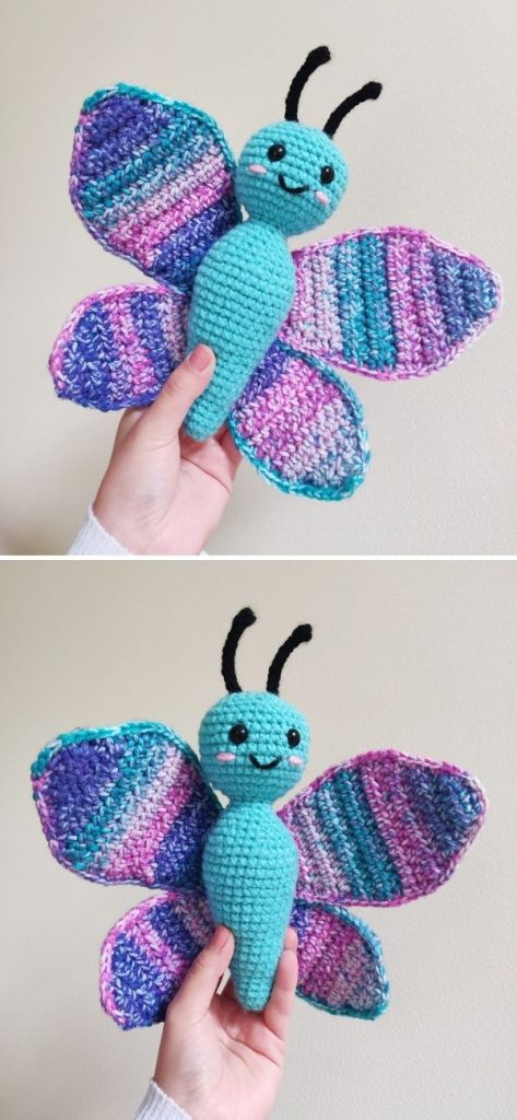 Bria the Butterfly Amigurumi