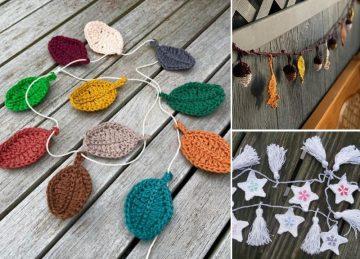 Decorative Crochet Bunting