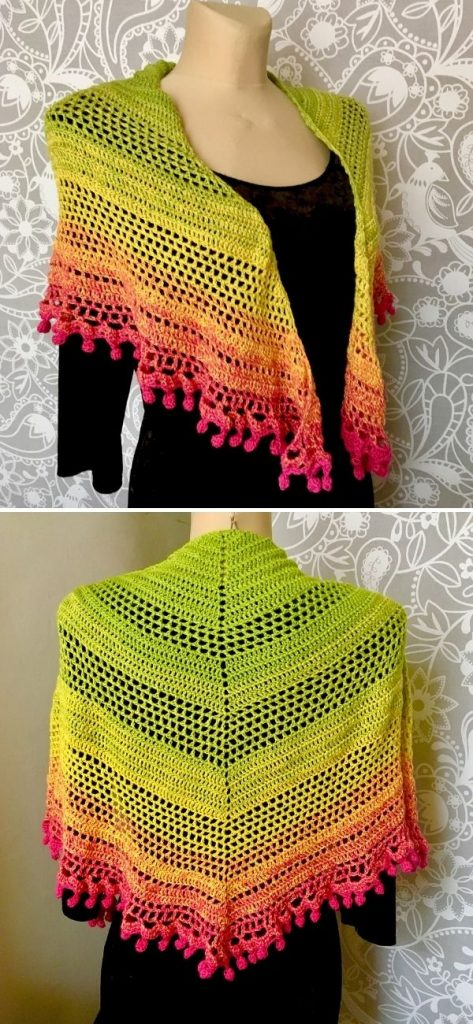 Pom pom happiness :green-yellow-pink