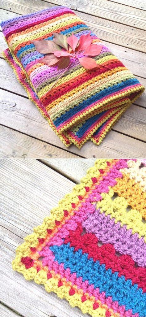 Cosy Stripe Blanket c