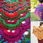 Beautiful Colorful Virus Shawls