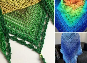Feminine Lost In Time Crochet Shawls