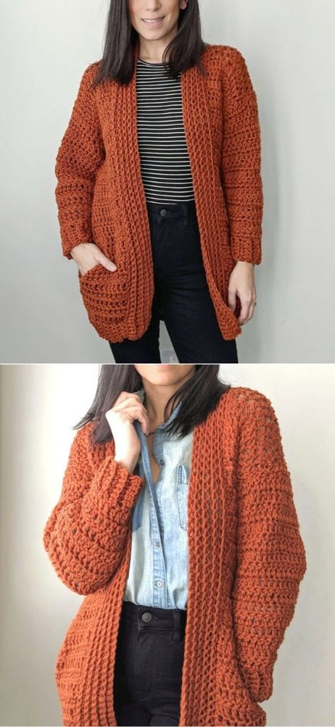 Hand in My Pocket Cardigan