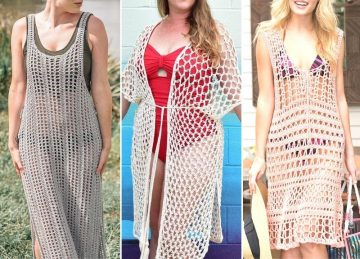 Beach Crochet Cover Up Patterns