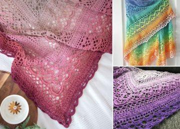 Crochet Shawls Beautiful Klaziena Patterns