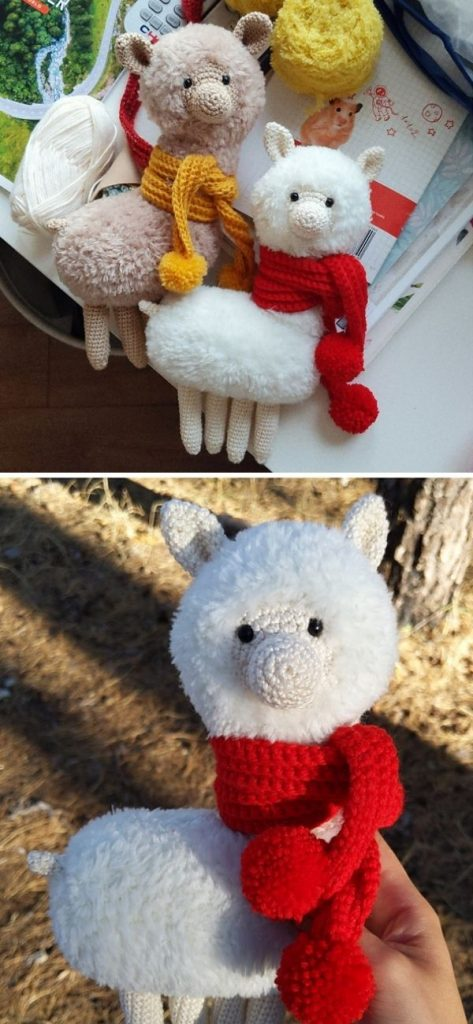 fluffy llama toys