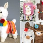 Sweet Llama and Alpaca Crochet Patterns