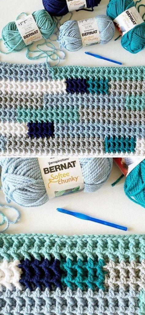 Simple Stripes Baby Blanket