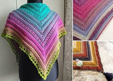 Secret Paths Crochet Shawls