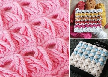 Lacy Crochet Stitches