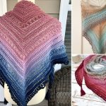 Secret Paths Crochet Shawls