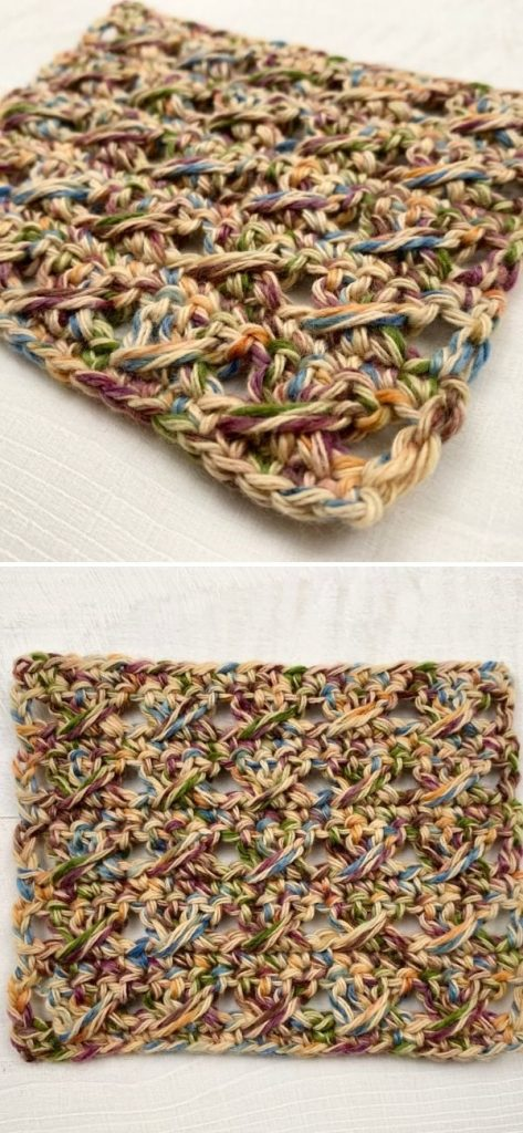 Crochet Cross Over Stitch Tutorial