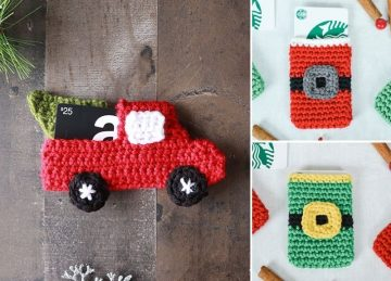 Beautiful Crochet Gift Card Holder