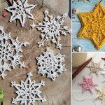 Lovely Crochet Snowflakes Pattern Ideas