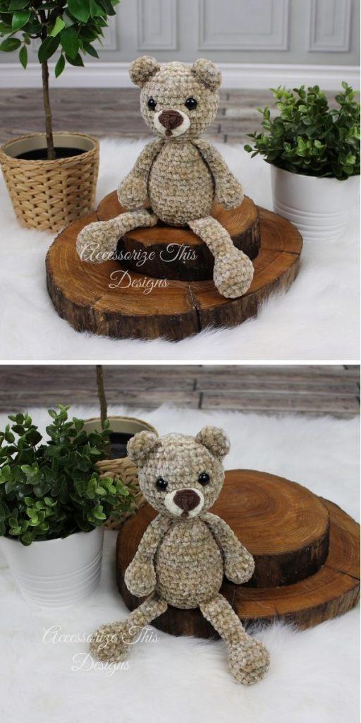 Flip Flop Teddy Bear