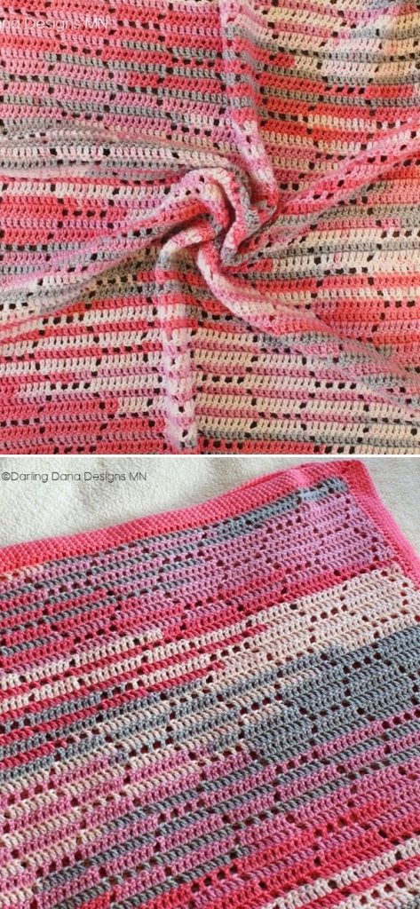 The Bees Knees Honeycomb Baby Blanket